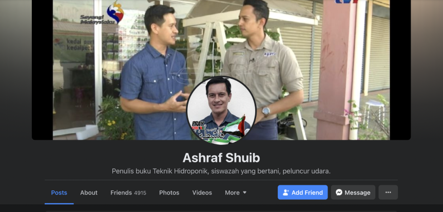 facebook ashraf shuib